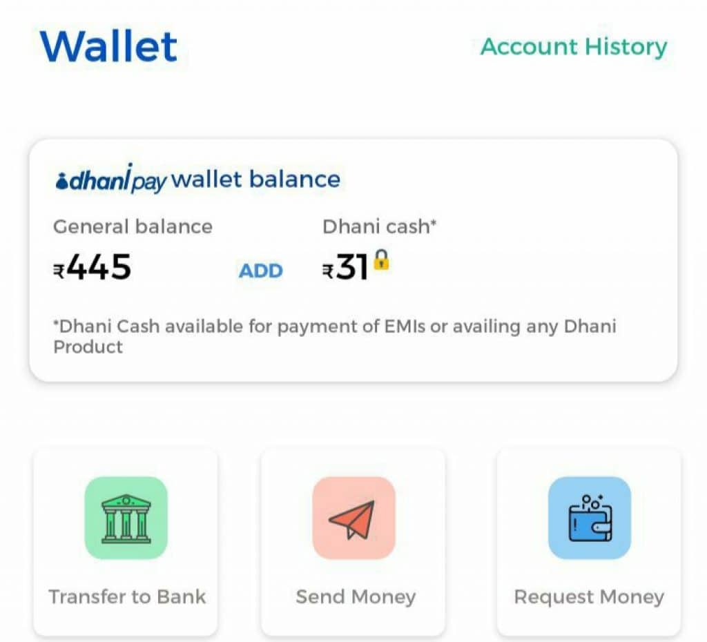 Dhani App Refer and earn code trick